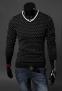 Мужской классический свитер для мужчин  - 3