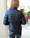 Короткая тонкая утолчённая куртка для женщин  - 6