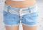 Джинсовые шорты для женщин  - 4
