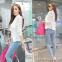 Офисная блузка с длинным рукавом для женщин  - 4