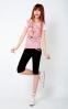 Летняя лёгкая футболка для стильных девушек  - 1