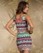 Элегантное лоскутное платье для женщин  - 6