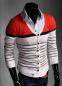 Стильный свитер с длинным рукавом для мужчин  - 2