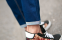 Зимние дизайнерские джинсы для мужчин - 7