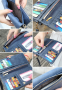 Польский кожаный кошелёк для женщин  - 10