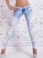 Свободные кружевные джинсы для женщин - 2