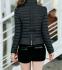 Тонкая тёплая куртка для женщин  - 3