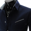 Новая модная рубашка с длинными рукавами для мужчин  - 4