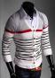 Стильный свитер с длинным рукавом для мужчин  - 3