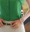 Летняя блузка с коротким руковом для женщин  - 4