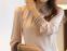 Новая блузка с воротником для стильных женщин  - 7