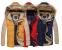 Модная мужская куртка, тёплая зима  - 1
