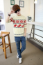 Модная осень, тонкий свитер для мужчин  - 9