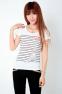 Летняя лёгкая футболка для стильных девушек  - 5
