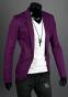 Тонкий стильный бизнес костюм для мужчин  - 3