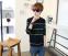 Модная осень, тонкий свитер для мужчин  - 3