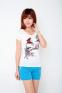 Летняя лёгкая футболка для стильных девушек  - 9