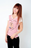 Летняя лёгкая футболка для стильных девушек  - 3