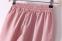 Твёрдые свободные брюки для женщин - 1