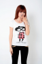 Летняя лёгкая футболка для стильных девушек  - 7