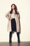 Новая коллекция весенней моды, свободное пальто для женщин  - 2