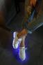 Красочные светящиеся кроссовки для женщин  - 1