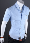 Европейский стиль, модная рубашка  - 6