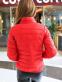 Короткая тонкая утолчённая куртка для женщин  - 8