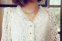 Тонкая прозрачная блузка для женщин  - 10