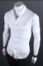 Европейский стиль, модная рубашка  - 2