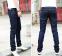 Модные обтягивающие джинсы для мужчин  - 3