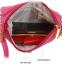 Кожаная мини сумка через плечо для женщин - 1