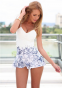 Белое сексуальное кружевное платье для женщин  - 5