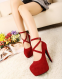 Сексуальные туфли с ремешком для женщин  - 1
