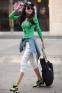 Женская осенняя футболка с длинным рукавом  - 2