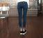 Женские джинсы со сплошным цветом  - 3