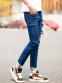 Зимние дизайнерские джинсы для мужчин - 1