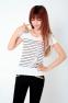 Летняя лёгкая футболка для стильных девушек  - 6