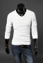 Мужской классический свитер для мужчин  - 5