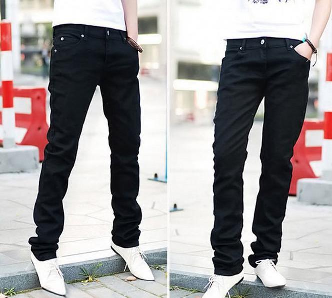 Модные обтягивающие джинсы для мужчин