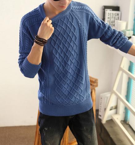 Модный мужской свитер для стильных мужчин