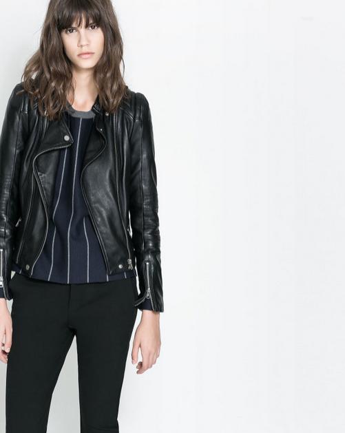 Кожаная куртка бомбардировщик для женщин