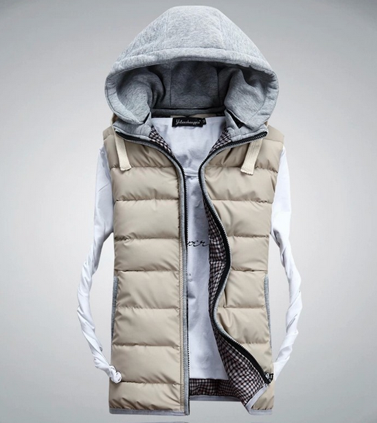 Зимний жилет для мужчины