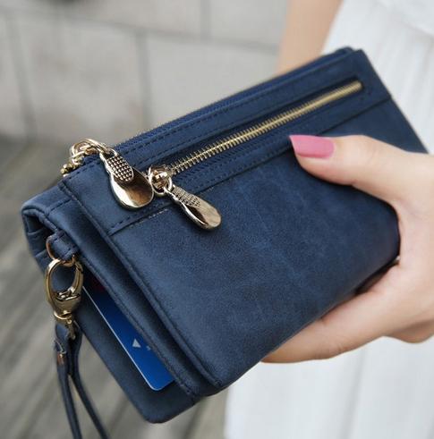 Польский кожаный кошелёк для женщин