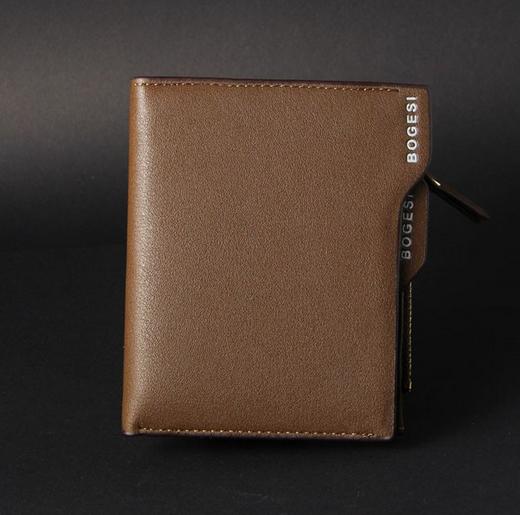 Новый натуральный кошелёк для мужчин