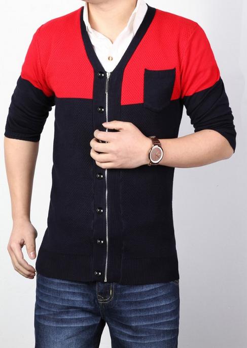 Тёплый мужской свитер для мужчин