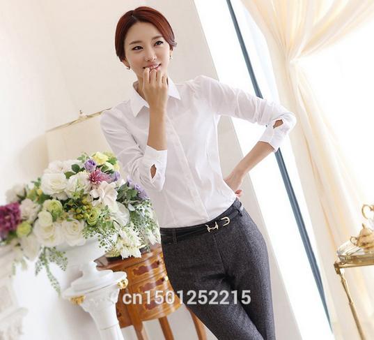 Новая белая рубашка для женщин