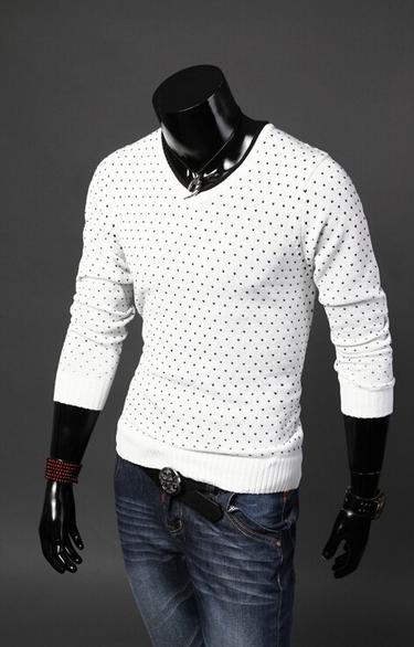 Мужской классический свитер для мужчин