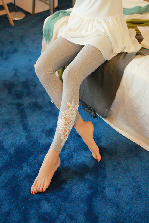 Летние тонкие кружевные брюки для женщин