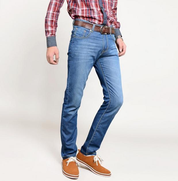 Мужские свободные джинсы